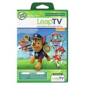 Leapfrog LeapTV Software Paw Patrol  was £24.99 now £9.99 @ argos
