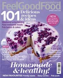 1 Year (4 issues) Feel Good Food, £9.99 / poss  51p profit with cashback @ Magazines Direct