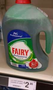 2.5ltr Original Fairy Liquid  £2.95 @ Farmfoods