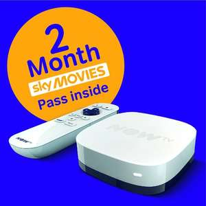 NOW TV Box + 2 month Sky Movies Pass £9.99 @ GAME