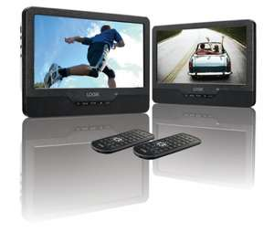 LOGIK L9DUALM13 Dual Screen Portable DVD Player £99.00 @ Currys