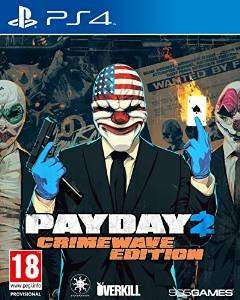 Payday 2 Crimewave Edition (PS4) £16  (Prime) / £17.99 (non Prime) @ Amazon