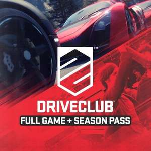 Driveclub and Season Pass £9.99 @ Playstation Store