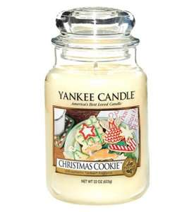 Yankee candle large jars £10.99 HALF PRICE Boots