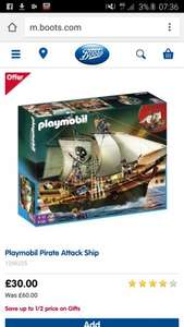 Half Price Playmobil - Boots - Free delivery