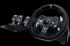 LOGITECH Driving Force G920/G92 Racing Wheel - Black £159.99 @ Currys
