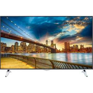 Techwood 40AO2USB 40 Inches Smart 4K Ultra HD LED Freeview TV £229 New sold by ao on eBay