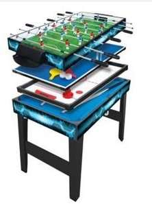3ft 4 in 1 Multi Table (pool table/ping pong etc) - £25 Tesco Direct