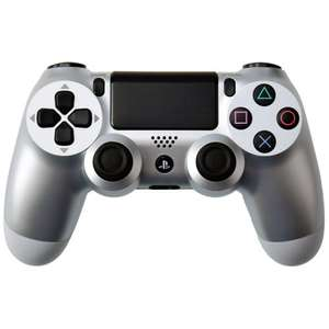 SONY PLAYSTATION 4 DUALSHOCK 4 CONTROLLER - SILVER Free Delivery + Quidco Cashback £33.24 @ Zavvi