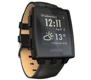 Pebble Steel Smartwatch £79.99 @ Currys  (Silver & Matte Black) FREE Delivery