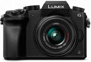 Panasonic Lumix G7 + 14-42mm Lens @ Wilkinson Cameras (£319 with cashback)