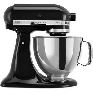 KitchenAid Artisan 4.8L Stand Mixer, Black Storm £170 off, £299 @ John Lewis