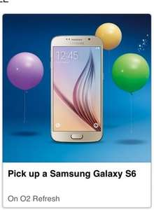O2 Refresh NEW Samsung Galaxy S6 £259.99 BNIB