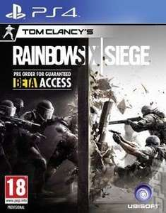 Tom Clancy's Rainbow Six: Siege PS4/Xbox One £24.29 with code @ Xtra-Vision via Rakuten (£24.29 with code direct Xtra-Vision)
