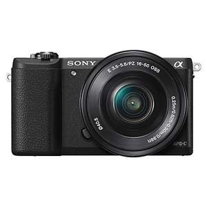 Sony A5100 Compact System Camera with 16-50mm OSS Lens @ John Lewis