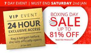 Swan Pre-Boxing Day SALE