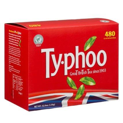 B&M 480 Typhoo tea bags £1