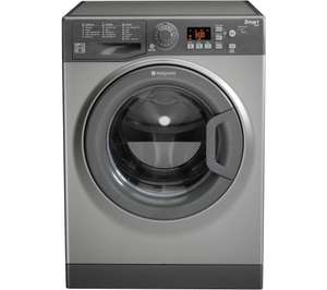HOTPOINT WMFUG942GUK SMART 9KG Washing Machine - Graphite @ CURRYS
