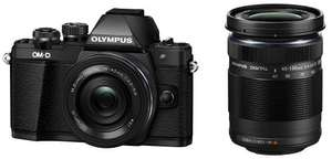Olympus OM-D EM-10 mark II 2 lens kit £529.95 at Amazon