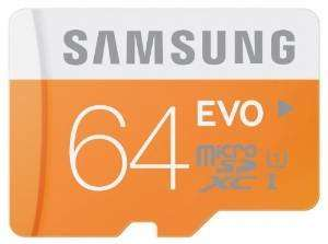 Samsung Memory 64 GB Evo MicroSDXC UHS-I Grade 1 Class 10 Memory Card with SD Adapter £12.99 Prime (16.98 Non Prime) @ Amazon Deal Of the Day