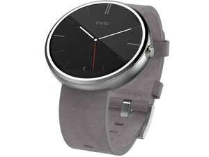 Motorola Moto 360 Watch Stone Leather @ unlockedmobiles.com