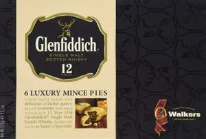 Walkers Shortbread Glenfiddich Mince Pies (Pack of 2) @Amazon £8.80/Prime