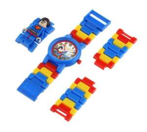 Lego Batman / Superman Watches £4.20 in store only @ Sainsbury's