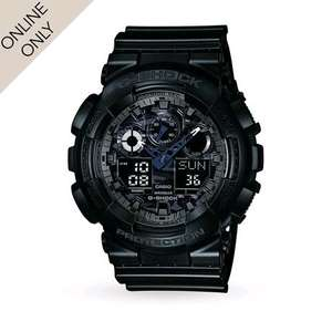 Casio Mens G-Shock Alarm Chronograph Watch £35.00 @ Goldsmiths