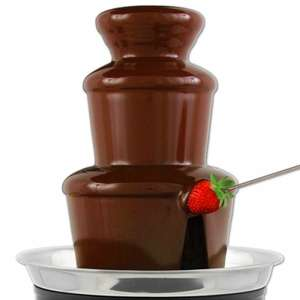 chocolate fountain £1 @ B&M