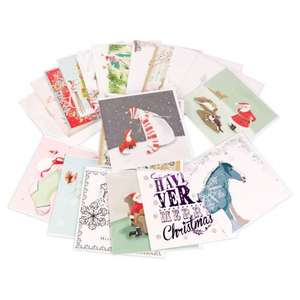 30 Individual Christmas cards bundle @ whistlefish £6.00 Free p+p over £20 Also gift wrap and floral cards bundle