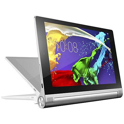 "Lenovo YOGA Tablet 2, Intel Atom, Android, 8"", Wi-Fi, 16GB, Silver, 2 year guarantee £129.95 @ John Lewis"