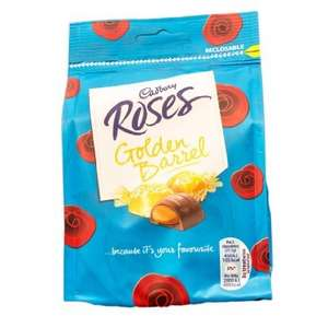 Cadbury Roses Golden Barrel Limited Edition & Cadbury Roses Strawberry Dream only 49p  at Superdrug