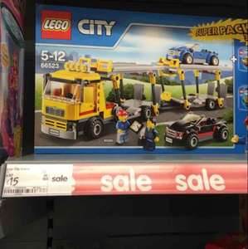 Lego City Vehicle 3 in 1 Super Value Pack £15 @ Asda