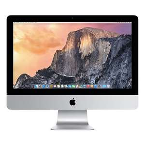 "Imac 21"" MF883B/A 8GB 500GB 2013 Model John Lewis £749 inc 2 Year Warranty"