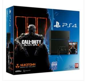 PlayStation 4 500GB Black Console Plus Call Of Duty Black Ops 3 £239.99 @ Co-Op Electrical
