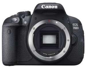 Canon EOS 700d Body Only £319  (£219 after Cashback) @ Wilkinson Cameras