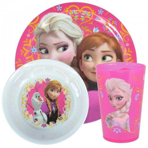 Disney Frozen Elsa and Anna Melamine 3 piece Dinner Set £2.00 @ Tesco Direct