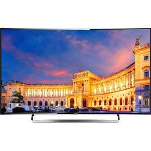 "Hisense curved 55"" 4K TV Ultra HD Smart FLAD 4 HDMI @ AO"