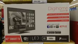 "Digihome 42"" full HD smart TV for £219 instore @ Local Tesco in Halifax"