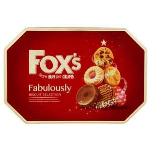 Fox's Fabulously Biscuit Selection 600g @ Tesco Express