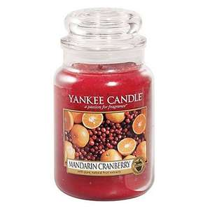 Yankee Candles 50% off across all sizes on limited Christmas fragrances only (instore at Dobbies)