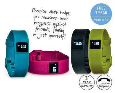 Wireless Activity Tracker (not Fitbit) instore Aldi 3rd Jan £24.99 3yr warranty + spare strap