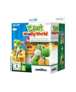 Yoshi's Woolly World and amiibo Green Yoshi Bundle £36.12 @ Amazon