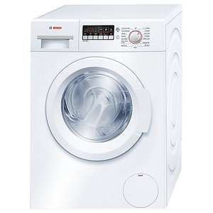 Bosch WAK24260GB Freestanding Washing Machine, 8kg Load, A+++ Energy Rating, 1200rpm Spin, White. Reduced to clear deal @ John Lewis for £279