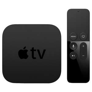 Apple TV 4 - 32gb + 64gb £10 off (£119 + £159) - 2 Year Guarantee @ John Lewis