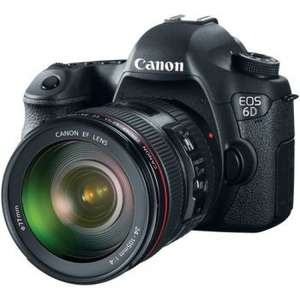 Canon EOS 6D Full frame D-SLR + EF 24-105 f/3.5-5.6 IS STM Lens @ Wilkinson Cameras (£1099 with cashback)