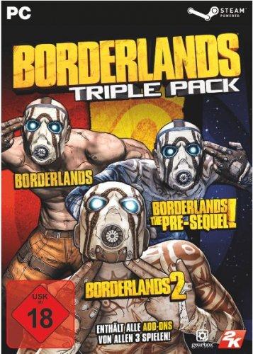 Borderlands: Triple Pack PC including all DLC £14.99 (Steam key) @ CDKeys