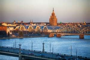 Riga City Break for 2 adults in double room (4 nights) 1st night with dinner + Breakfast each morning with flights £121.47pp @ TravelBird (From Leeds, Liverpool or Stansted)