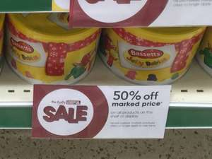 Bassetts Jelly Babies 800g tub Half price £1.75 @ Wilko