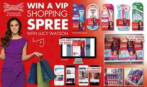 Wilkinsons Sword Live Like Lucy competition plus free beauty treatment when you purchase a razor